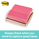 Post-it® Pop-up Note Dispenser, 3 x 3, Rose Gold (WD-330-RG)