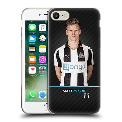 OFFICIAL NEWCASTLE UNITED FC NUFC 2016/17 FIRST TEAM 2 Ritchie Soft Gel Case for Apple iPhone 7