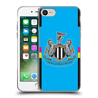 OFFICIAL NEWCASTLE UNITED FC NUFC 2016/17 KIT Change Goalkeeper Soft Gel Case for Apple iPhone 7