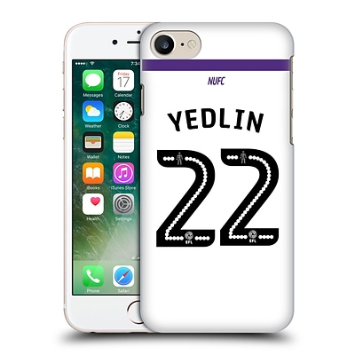 Official Newcastle United Fc Nufc 2016/17 Players Third Kit 2 Yedlin Hard Back Case For Apple Iphone 7
