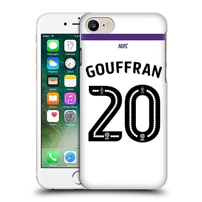 OFFICIAL NEWCASTLE UNITED FC NUFC 2016/17 PLAYERS THIRD KIT 1 Gouffran Hard Back Case for Apple iPhone 7