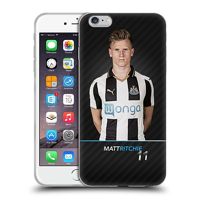 Official Newcastle United Fc Nufc 2016/17 First Team 2 Ritchie Soft Gel Case For Apple Iphone 6 Plus / 6S Plus