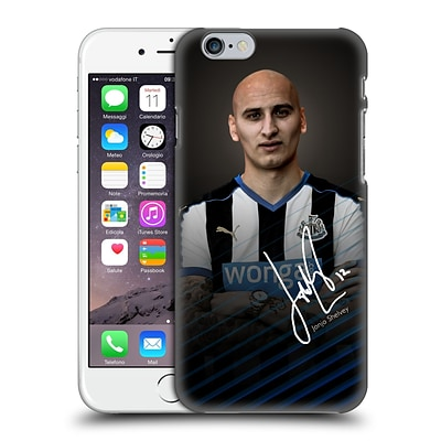 OFFICIAL NEWCASTLE UNITED FC NUFC 2015/16 FIRST TEAM Jonjo Shelvey Hard Back Case for Apple iPhone 6 / 6s