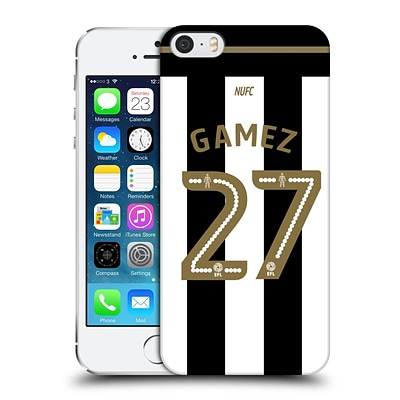 Official Newcastle United Fc Nufc 2016/17 Players Home Kit 1 Gamez Hard Back Case For Apple Iphone 5 / 5S / Se