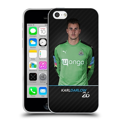 OFFICIAL NEWCASTLE UNITED FC NUFC 2016/17 FIRST TEAM 1 Darlow Soft Gel Case for Apple iPhone 5c