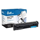 Quill Brand® HP202A Remanufactured Cyan Toner Cartridge, Standard Yield (CF501A) (Lifetime Warranty)