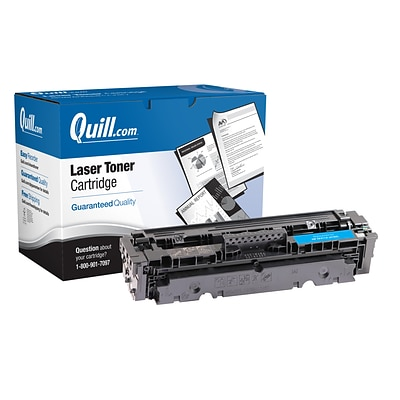 Quill Brand® HP 410X Remanufactured Cyan Toner Cartridge, High Yield (CF411X) (Lifetime Warranty)
