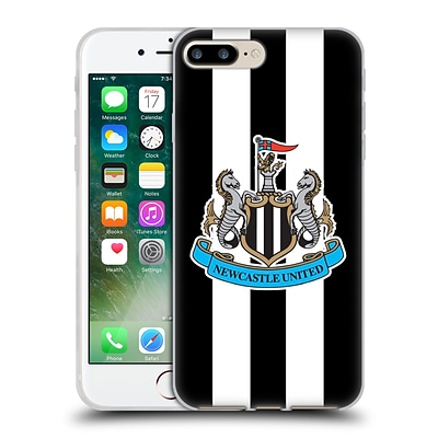 OFFICIAL NEWCASTLE UNITED FC NUFC 2015/16 CREST KIT Home Full Colour Soft Gel Case for Apple iPhone 7 Plus