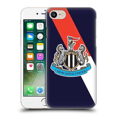 OFFICIAL NEWCASTLE UNITED FC NUFC 2015/16 CREST KIT Third Full Colour Hard Back Case for Apple iPhone 7