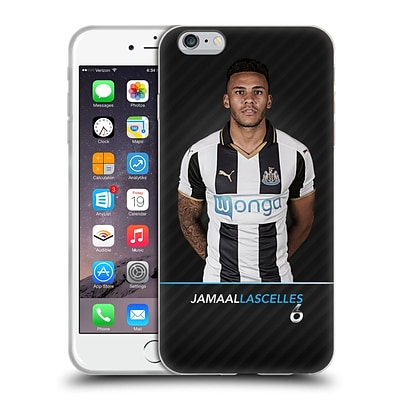 OFFICIAL NEWCASTLE UNITED FC NUFC 2016/17 FIRST TEAM 1 Lascelles Soft Gel Case for Apple iPhone 6 Plus / 6s Plus