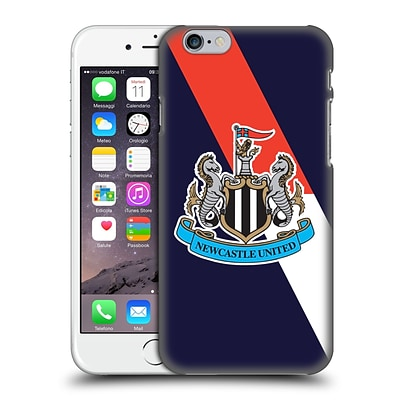 OFFICIAL NEWCASTLE UNITED FC NUFC 2015/16 CREST KIT Third Full Colour Hard Back Case for Apple iPhone 6 / 6s