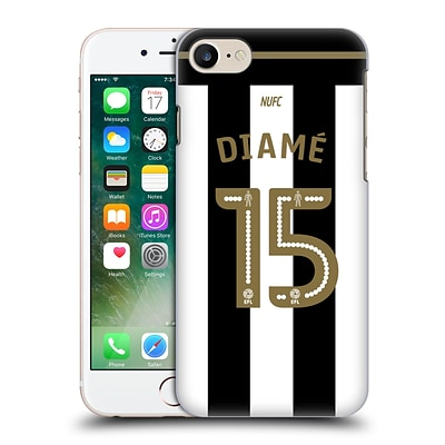 OFFICIAL NEWCASTLE UNITED FC NUFC 2016/17 PLAYERS HOME KIT 2 Diamé Hard Back Case for Apple iPhone 7