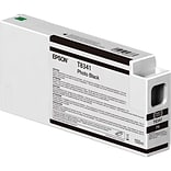 Epson T834 Photo Black Ink Cartridge, Standard Yield