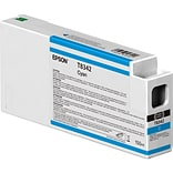 Epson T834 Cyan Ink Cartridge, Standard Yield