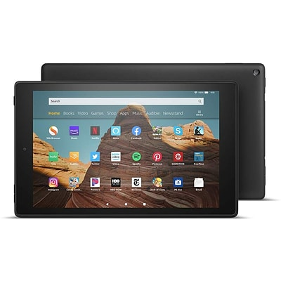 Amazon Fire HD 10 Tablet (9th Generation), 10.1 HD Display, WiFi, 64 GB, Black (B07K2HBB1H)