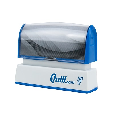 Custom Quill 2000 Plus® HD 12 Pre-inked Stamp, 0.31 x 2.5