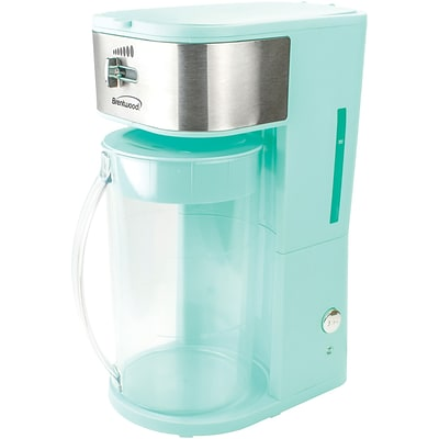 Brentwood Appliances Iced Tea And Coffee Maker, 64 oz., Blue (Kt-2150bl)