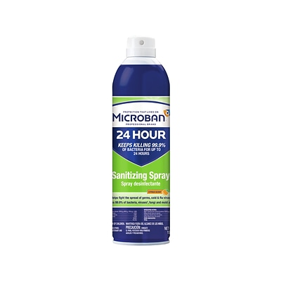 Microban Sanitizing Spray, Citrus, 15 Oz. (30130)