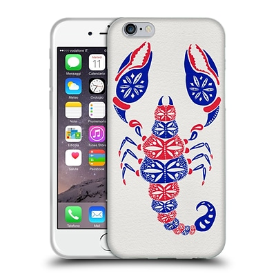OFFICIAL CAT COQUILLETTE INSECTS America Scorpion Soft Gel Case for Apple iPhone 6 / 6s