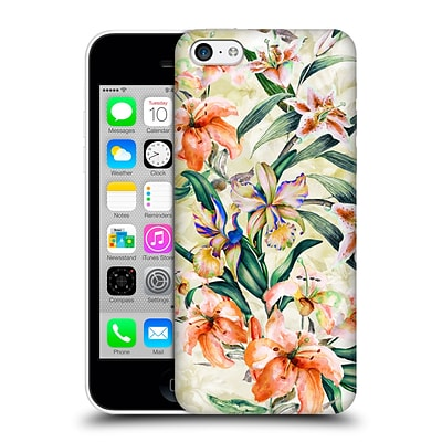 OFFICIAL RIZA PEKER FLOWERS 2 Floral III Hard Back Case for Apple iPhone 5c