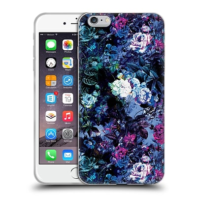 OFFICIAL RIZA PEKER FLOWERS Floral IV Soft Gel Case for Apple iPhone 6 Plus / 6s Plus