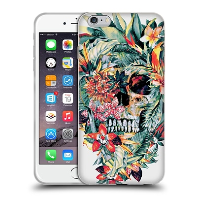 OFFICIAL RIZA PEKER SKULLS Momento Mori V Soft Gel Case for Apple iPhone 6 Plus / 6s Plus