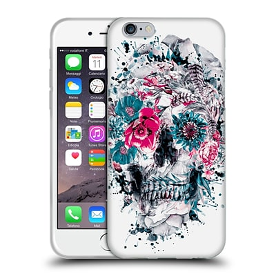 OFFICIAL RIZA PEKER SKULLS Momento Mori IX Soft Gel Case for Apple iPhone 6 / 6s