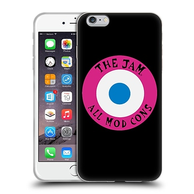 OFFICIAL THE JAM KEY ART All Mod Cons Soft Gel Case for Apple iPhone 6 Plus / 6s Plus