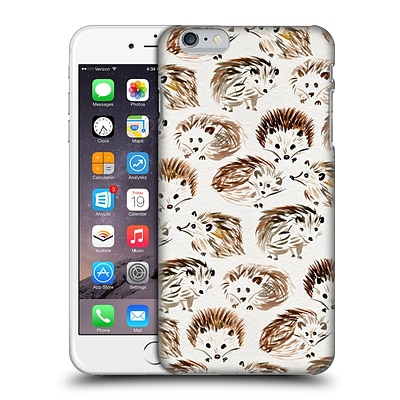 OFFICIAL CAT COQUILLETTE ANIMALS Hedgehogs Hard Back Case for Apple iPhone 6 Plus / 6s Plus