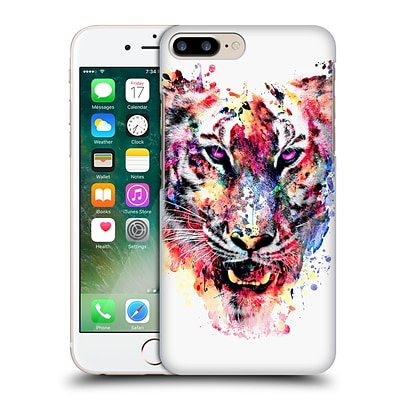 OFFICIAL RIZA PEKER ANIMALS Eye Of The Tiger Hard Back Case for Apple iPhone 7 Plus
