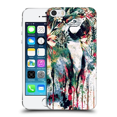 OFFICIAL RIZA PEKER ANIMALS Parrot Hard Back Case for Apple iPhone 5 / 5s / SE