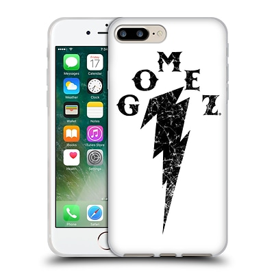 OFFICIAL SELENA GOMEZ REVIVAL ART Distressed Thunderbolt Soft Gel Case for Apple iPhone 7 Plus