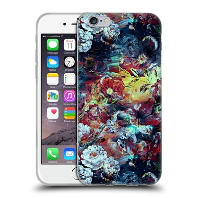 OFFICIAL RIZA PEKER FLOWERS 2 Floral VII Soft Gel Case for Apple iPhone 6 / 6s