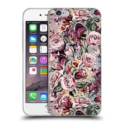 OFFICIAL RIZA PEKER FLOWERS 2 Floral VIII Soft Gel Case for Apple iPhone 6 / 6s