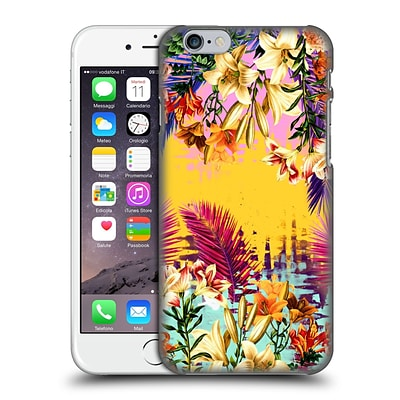OFFICIAL BURCU KORKMAZYUREK TROPICAL Multicolour Hard Back Case for Apple iPhone 6 / 6s