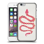 OFFICIAL CAT COQUILLETTE ANIMALS Snake Pink Hard Back Case for Apple iPhone 6 / 6s