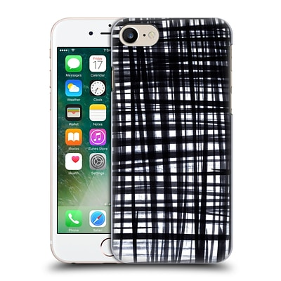 OFFICIAL CAITLIN WORKMAN PATTERNS Brushed Check Hard Back Case for Apple iPhone 7