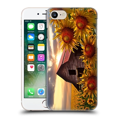 OFFICIAL CELEBRATE LIFE GALLERY FLORALS Sunflower Dance Hard Back Case for Apple iPhone 7