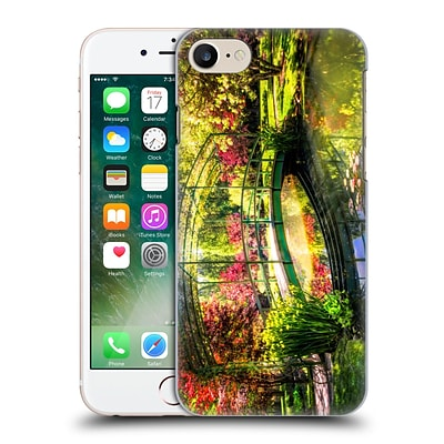 OFFICIAL CELEBRATE LIFE GALLERY LANDSCAPE Bridge In The Garden Hard Back Case for Apple iPhone 7
