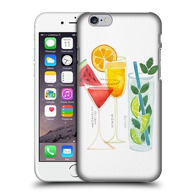 OFFICIAL CAT COQUILLETTE MIXED DRINKS 3 Summer Drinks Hard Back Case for Apple iPhone 6 / 6s