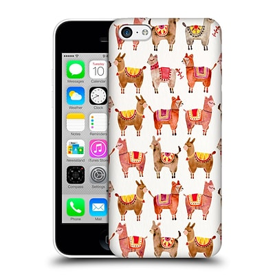 OFFICIAL CAT COQUILLETTE ANIMALS Alpacas Hard Back Case for Apple iPhone 5c