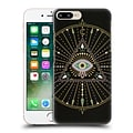 OFFICIAL CAT COQUILLETTE MANDALA Evil Eye Black Hard Back Case for Apple iPhone 7 Plus