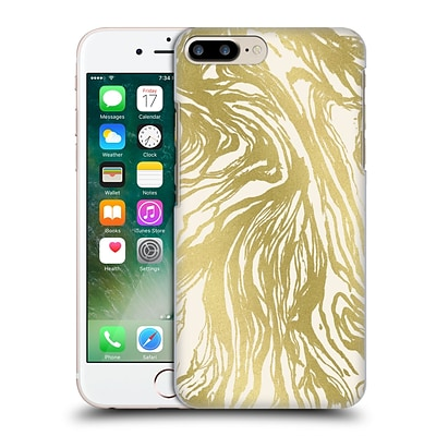 OFFICIAL CAITLIN WORKMAN PATTERNS Marble Gold Hard Back Case for Apple iPhone 7 Plus