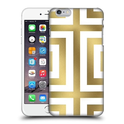OFFICIAL CAITLIN WORKMAN MODERN Spring Gold 01 Hard Back Case for Apple iPhone 6 Plus / 6s Plus