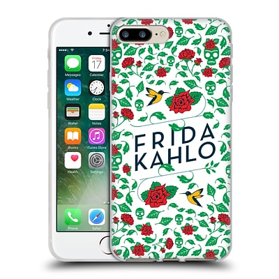 OFFICIAL FRIDA KAHLO ICONS Birds and Roses Soft Gel Case for Apple iPhone 7 Plus