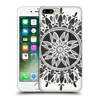 OFFICIAL CAT COQUILLETTE MANDALA Black Hard Back Case for Apple iPhone 7 Plus