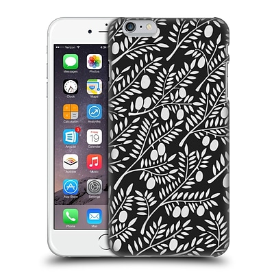 OFFICIAL CAT COQUILLETTE PATTERNS White Olive Branches Hard Back Case for Apple iPhone 6 Plus / 6s Plus