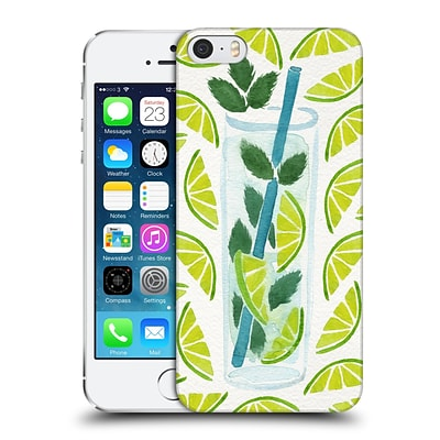 OFFICIAL CAT COQUILLETTE MIXED DRINKS Mojito Hard Back Case for Apple iPhone 5 / 5s / SE