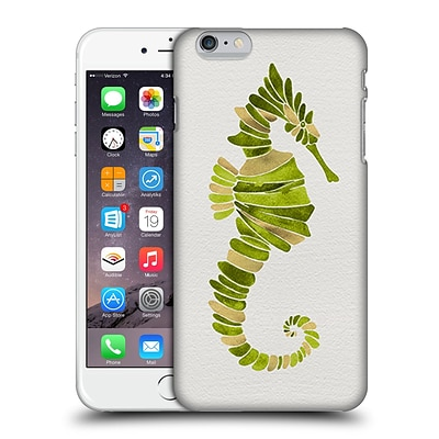 OFFICIAL CAT COQUILLETTE SEA Seahorse Green Hard Back Case for Apple iPhone 6 Plus / 6s Plus