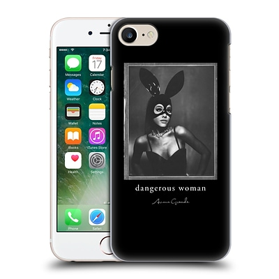 OFFICIAL ARIANA GRANDE DANGEROUS WOMAN Bunny Mask Hard Back Case for Apple iPhone 7